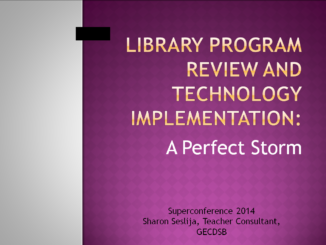 GECDSB Library Review